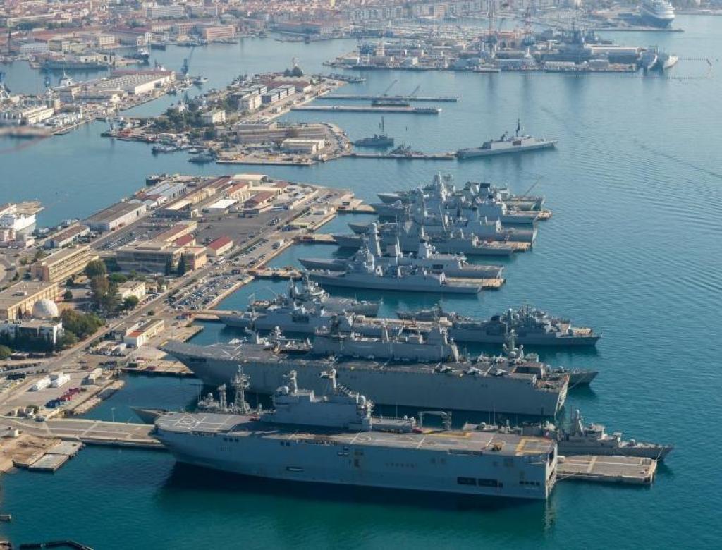 Campagne de mesures Géoradar sur la base navale de Toulon (83)
