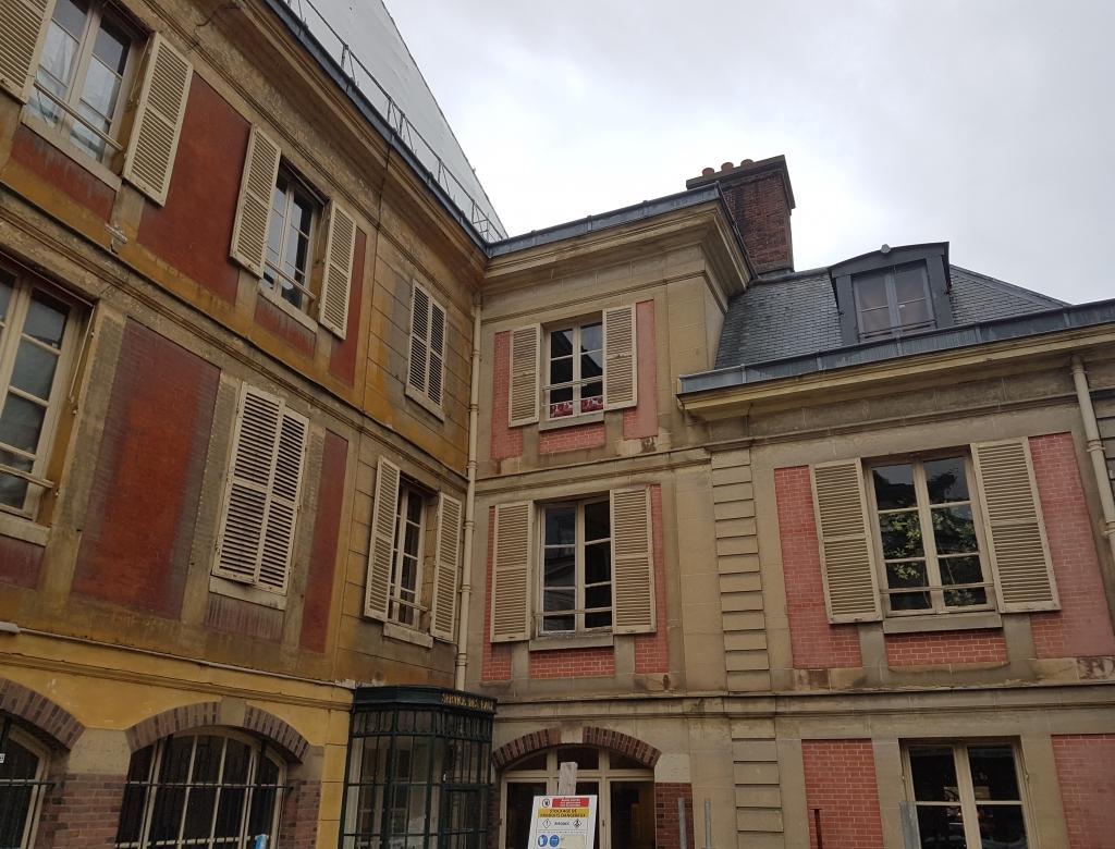 BETEX réalise la reconnaissance structurelle du pavillon des Eaux du Château de Versailles.