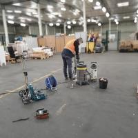 Réalisation de carottages sur dallage industriel pour calculer sa capacité portante