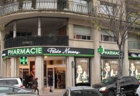 Projet d'agrandissement d'une pharmacie à Marseille (13)