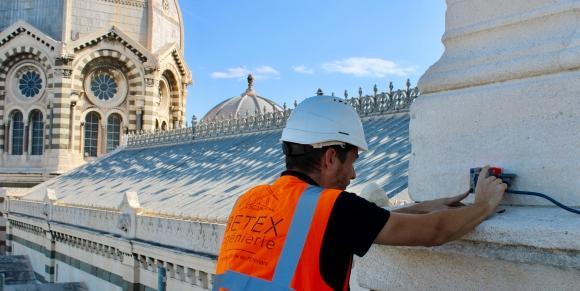 BETEX INGENIERIE réalise une campagne de mesures Géoradar sur la Cathédrale de La Major