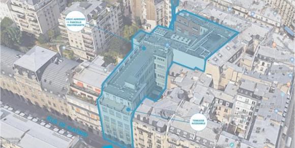 Campagne de 300 sondages sur structures béton armé - proche Gare St-Lazare