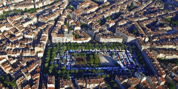 Réaménagement de la Place Jean Jaurès à Marseille - BETEX vérifie la capacité portante d'une dalle du parking sous-terrain